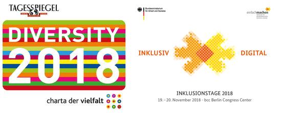 Logo Inklusionstage und Diversity 2018