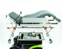 Trennung vom Liegesystem und der Rollstuhlbasis