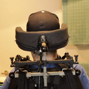 Kopfsteuerung Rückseite